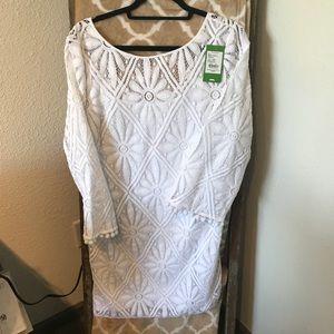 Lilly Pulitzer Resort White Delray Dress - XL